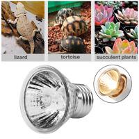 25/50/75W Full Spectrum UVA UVB Heat Emitter Lamp Bulb Light for Reptile Brooder