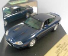 Vitesse 1/43 Scale Metal Model - V98118 JAGUAR XKR COUPE MET BLUE 1998