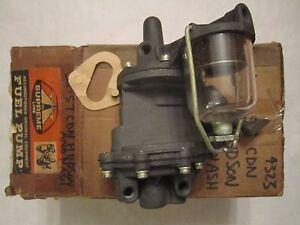 56-57 Hudson Nash Canada Dual Action Vacuum Fuel Pump Remanufactured 4323