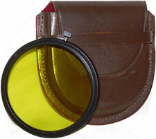 Pentax Y2 Yellow Filter w/Case: 67mm Friction Fit