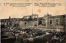 CPA Heiltz le Maurupt Magasin dans la rue des Reines (491138)