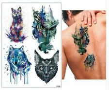Temporary Tattoo Stickers Body Art Waterproof Four 25 Designs 1 Sheet
