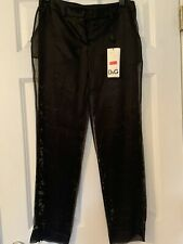 Dolce Gabanna Black Lace Pants