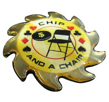 Casino Poker Card Guard Cover Protector Spinner Chip and a Chair