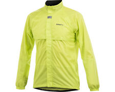 Craft Active Bike Rain Jacket Fluoro Size XS - 55% Off RRP