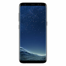 Samsung Galaxy S8 64GB Unlocked GSM 12MP Octa-Core Smartphone - Midnight Black