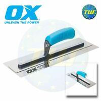 OX Pro 16in UltraFLEX Trowel - Super Flexible Stainless Steel Plastering Tools O