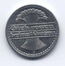 Deutsches Reich 50 Pfennig 1922 E Ährengarbe