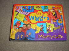 Used The Wiggles Memory Game Complete all pieces included