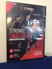 Strong by Zumba Dvd High-Intensity Cardio + Tone 60 Minute Workout (S)