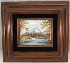 Oil Painting Mt. Washington - Oregon by Vivian Collins