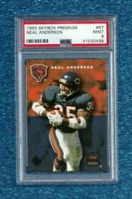 1993 Skybox Premium #67 Neal Anderson Psa 9 Mint Pop 1 Chicago Bears