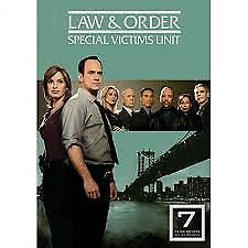 LAW AND ORDER – YEAR 7- DVD, R-1, 5-DISC BOX SET, LIKE NEW, FREE POST+TRACKING