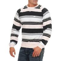 Nike Fusion Yarn Dyed Striped Crew Neck Longsleeve Crewneck Pullover Pulli b2dfcf489a