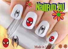 "RTG Set#594 CHARACTER ""Spiderman Black Spider"" WaterSlide Decals Nail Transfers"