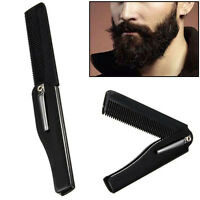 GN- Portable Folding Comb Hair Styling Hairdressing Detangle Beard Comb Pretty