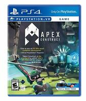 Apex Construct VR Sony PS4 RPG Action Virtual Reality Game Playstation 4 PSVR