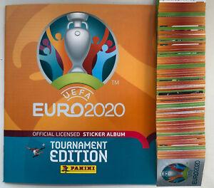 Panini Euro 2020 2021 Tournament stickers #231-454 England Scotland