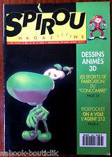 a)SPIROU N°2838 Dessins animés 3 D