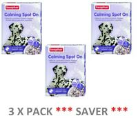 Beaphar Calming Spot On for Dog Puppy Pet Reduces Stress Anxiety