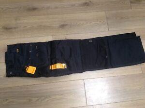 DeWalt Pro tradesman work trousers multipocket with kneepad pockets