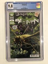 Batman #97 CGC 9.8 James Tynion IV - JOKER WAR Guillem March 2020