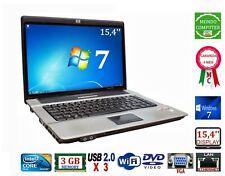 COMPUTER PORTATILE HP 6720S CPU INTEL CORE 2 DUO T5670  WI-FI WINDOWS 7 _ 15,4''