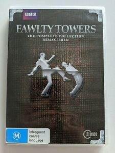 Fawlty Towers - The Complete Collection Remastered 3 Disc DVD Set PAL