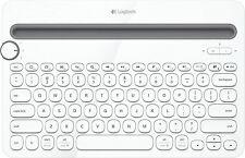 Tastatur Logitech K480 Bluetooth Multi-Device Keyboard, schnurlos, weiß