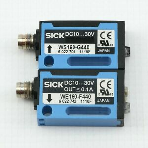SICK Through Beam Photoelectric Switch | WS160 WE160-G440 (Emitter & Receiver)