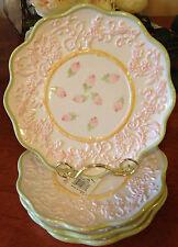 Christina Ladas for Silvestri   Set of 4 Dessert Plates     New!