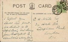 LLANDUDNO : 1906 B47  numeral cancel on picture postcard