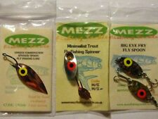 Trout Flies (Mixed Set of Big Eyed Metal Fly Fishing Lures
