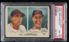 1959 Fleer Ted Williams 1949 Sox Miss Out Again #37 PSA 8 HOF