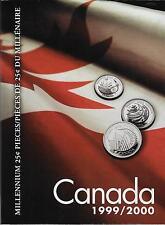 Uni-safe Canada 1999/2000 Millennium Coin Folder $3.99