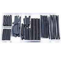 Rolson 127 Piece Heat Shrink Garage  Workshop Wiring  Various Tubing Sizes 61299