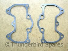 Gaskets,Rocker Box,Pair,Triumph 650 Alloy Head 1956-62, 70-3552, wire reinforced