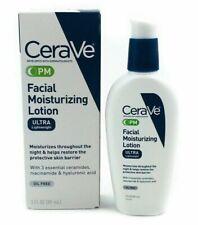 CeraVe Facial Moisturizing Lotion PM (Night) Ultra Lightweight 3 Oz NEW