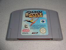Star Wars The Battle of Naboo n64 jeu uniquement le module