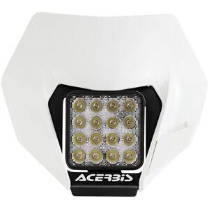Acerbis MX Motocross Dirt Bike VSL KTM EXC/EXC-F 13-16 White LED Headlight