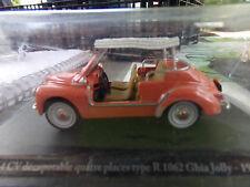 voiture miniature 1/43 ELIGOR/HACHETTE RENAULT 4 CV JOLLY DE 61 TYPE R 1062