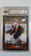 Claude Giroux 2008-09 Young Guns Rookie Card KSA Graded 9.!!!