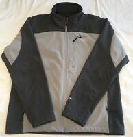The North Face Men's Apex TNF Soft Shell Jacket Black & Gray XL Good Condition