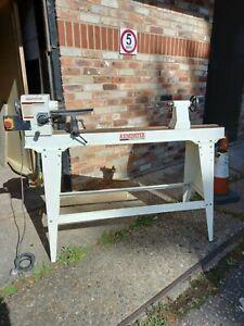 Axminster M1000 wood lathe