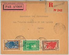 French Colonies: MADAGASCAR -  POSTAL HISTORY - REGISTERED COVER from TSIHOMBE