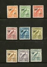 New Guinea Bird Of Paradise Stamps Dated