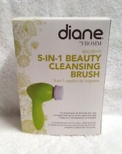 Diane Fromm 5-In-1 Beauty Cleansing Brush System Exfoliator Plus Attachments