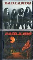 Badlands-Badlands Cd (1989)+Voodoo Highway Cd (1991) Two separate CD