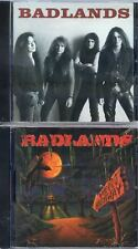 Badlands-Badlands Cd (1989)+Voodoo Highway Cd (1991) Two separate CD's