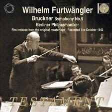 Bruckner: Symphony No.5 Berlin Philharmonic Orchestra, Wilhelm Furtwangler Audi